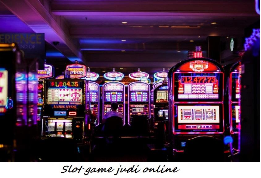 Slot game judi online